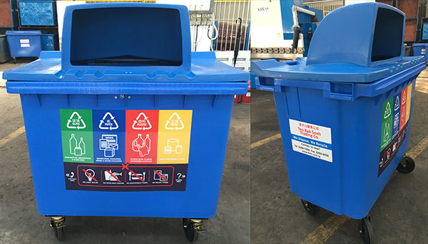 Disposal and waste management equipment - Recycling mobel ...